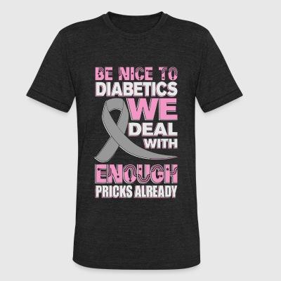 DIABETICS - DIABETICS - Unisex Tri-Blend T-Shirt by American Apparel