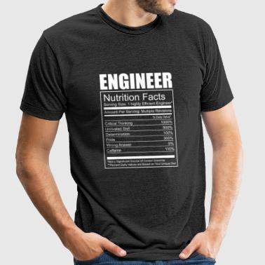 Engineer - Engineer - Funny Engineer Nutrition - Unisex Tri-Blend T-Shirt
