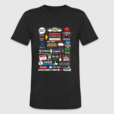 Central perk - We were on a break awesome t - sh - Unisex Tri-Blend T-Shirt by American Apparel