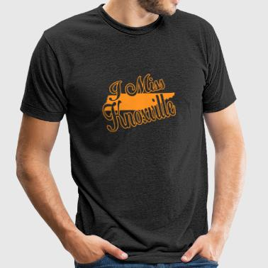 Knoxville - i miss knoxville - Unisex Tri-Blend T-Shirt