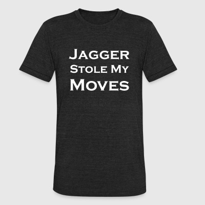 Rock - Jagger Stole My Moves - Unisex Tri-Blend T-Shirt by American Apparel