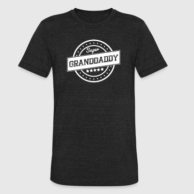 Super granddaddy - Unisex Tri-Blend T-Shirt by American Apparel