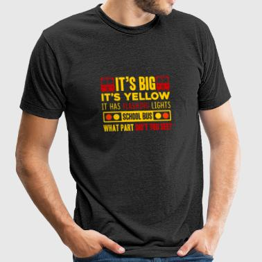 SCHOOL BUS DRIVER SHIRT - Unisex Tri-Blend T-Shirt