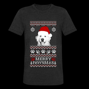 Christmas sweater for Great Pyrenees lover - Unisex Tri-Blend T-Shirt