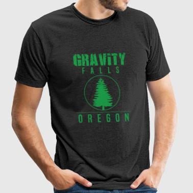 Gravity Fall - Gravity Falls Oregon Pine - Unisex Tri-Blend T-Shirt