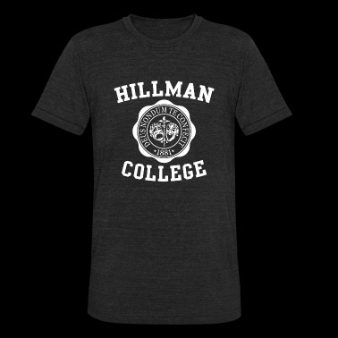 The Cosby show - Hillman College - Unisex Tri-Blend T-Shirt