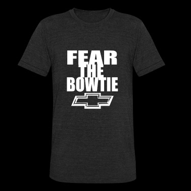 Chevrolet - Fear the bowtie awesome t-shirt - Unisex Tri-Blend T-Shirt