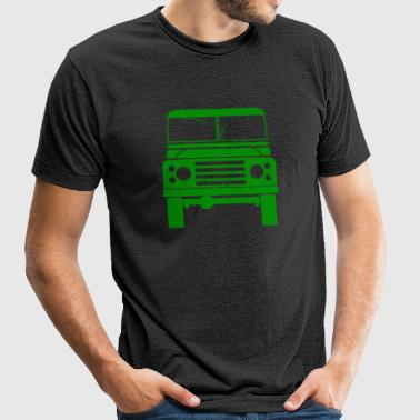 Defender Land Rover - Unisex Tri-Blend T-Shirt