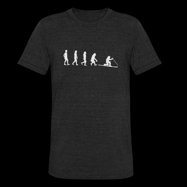 Evolution Telemark Ski - Unisex Tri-Blend T-Shirt