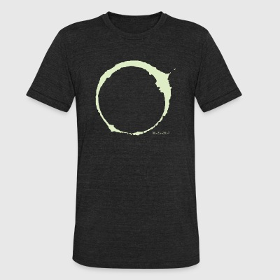 Total Eclipse 2017 - LIMITED EDITION - Unisex Tri-Blend T-Shirt by American Apparel