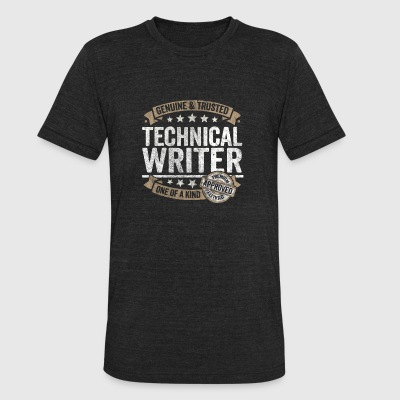 Technical Writer Gift Trusted Profession Job Shirt - Unisex Tri-Blend T-Shirt by American Apparel