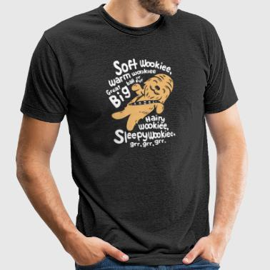 Soft Wookie - Unisex Tri-Blend T-Shirt by American Apparel