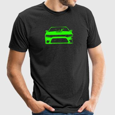 GoGreen SRT Charger - Unisex Tri-Blend T-Shirt by American Apparel