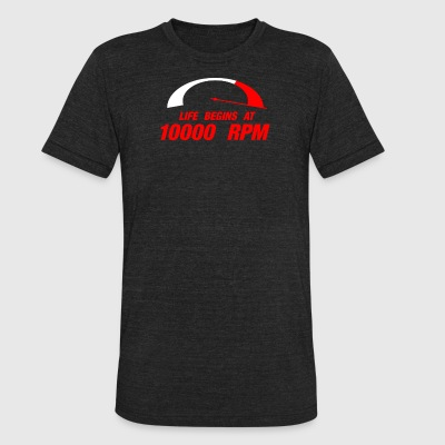 10000 RPM - Unisex Tri-Blend T-Shirt by American Apparel