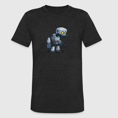 ROBOT ROBLOX - Unisex Tri-Blend T-Shirt by American Apparel