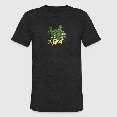 I AM GROOT - Unisex Tri-Blend T-Shirt by American Apparel