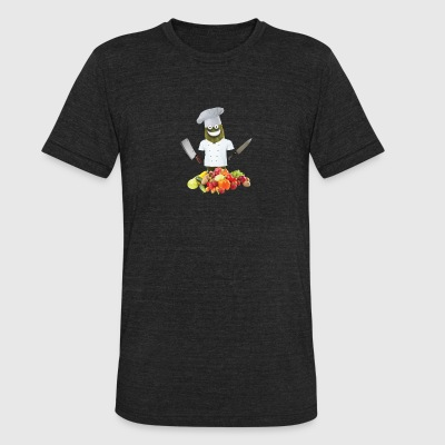 Chef Pickle - Unisex Tri-Blend T-Shirt by American Apparel