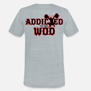 Wod Sport Addicted to the WOD - Unisex Tri-Blend T-Shirt