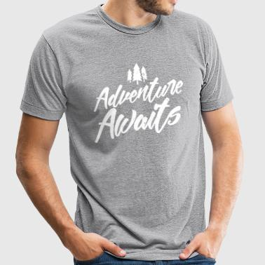 Adventure Awaits - Unisex Tri-Blend T-Shirt