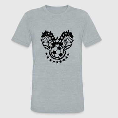 soccer sports flying wing - Unisex Tri-Blend T-Shirt