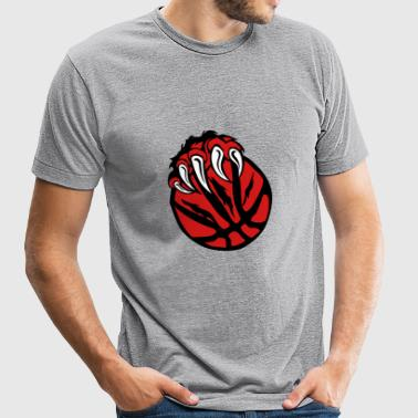 basketball paw bear beast claws - Unisex Tri-Blend T-Shirt