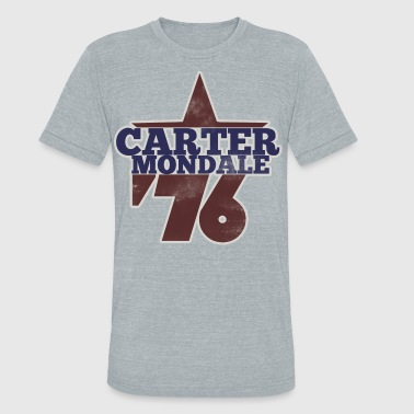 Jimmy Carter carter mondale 76 election - Unisex Tri-Blend T-Shirt