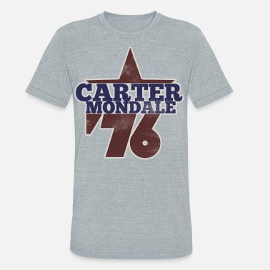 Carter carter mondale 76 election - Unisex Tri-Blend T-Shirt