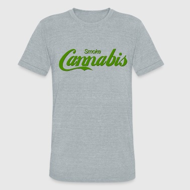 Smoke Cannabis - Unisex Tri-Blend T-Shirt