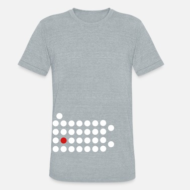Pa Pride Pittsburgh, PA - Abstract Dots - Unisex Tri-Blend T-Shirt