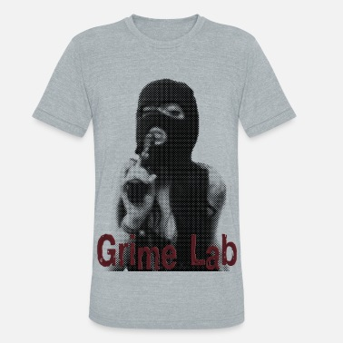 Girl Sexy Halftone Gangster - Unisex Tri-Blend T-Shirt