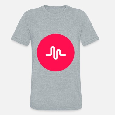 Musical Logo musically logo - Unisex Tri-Blend T-Shirt