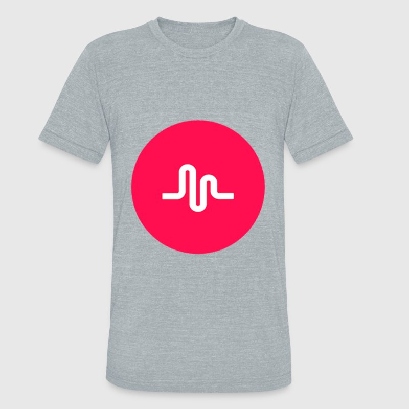 musically logo - Unisex Tri-Blend T-Shirt