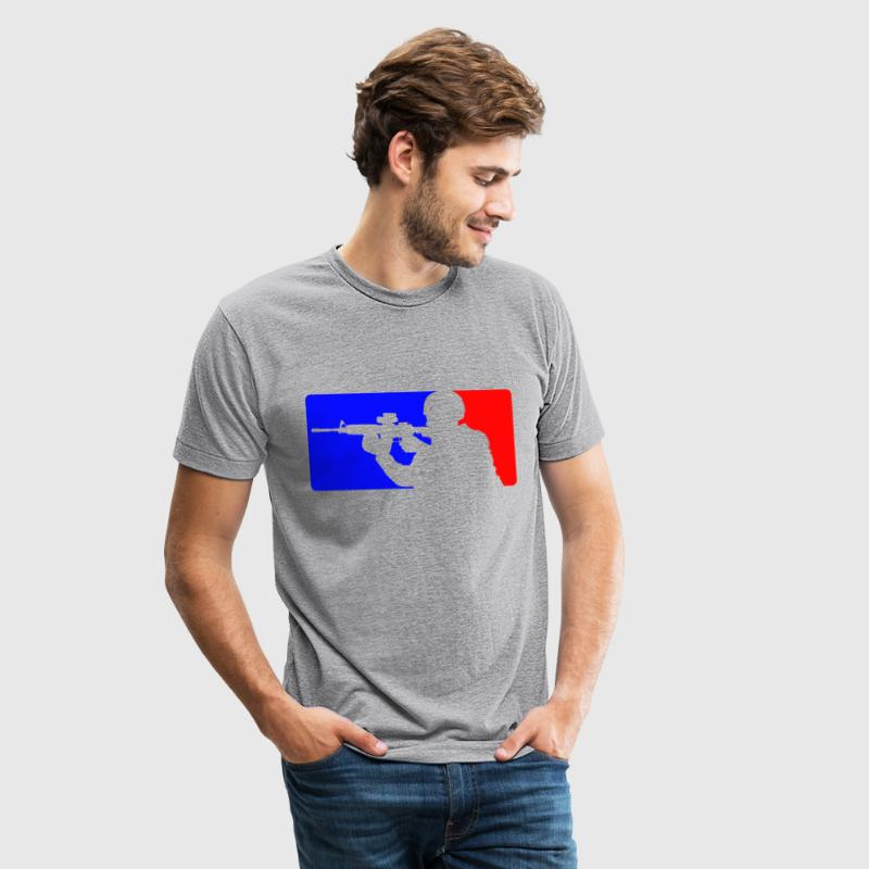 Major league AR-15 - Unisex Tri-Blend T-Shirt
