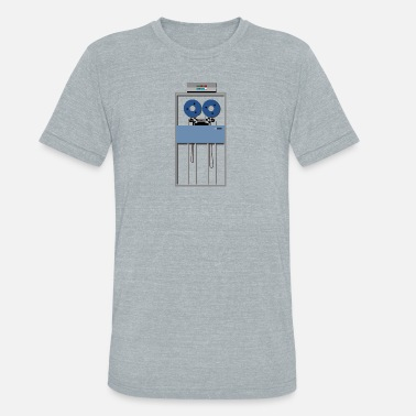 Tape Drive Mainframe Tape Drive - Unisex Tri-Blend T-Shirt
