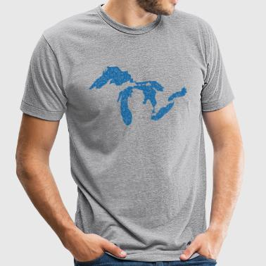 The Great Lakes - Unisex Tri-Blend T-Shirt