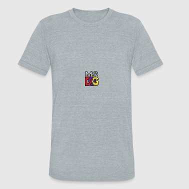 Prompt MS DOS Prompt logo - Unisex Tri-Blend T-Shirt