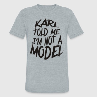 Model Carate - Unisex Tri-Blend T-Shirt