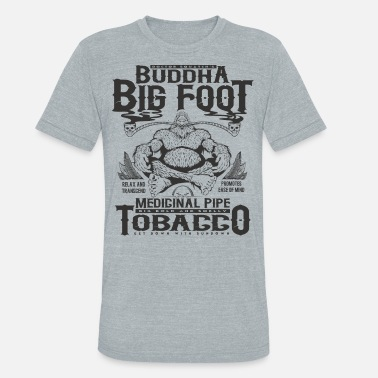 Buddha Bigfoot Tobacco - Unisex Tri-Blend T-Shirt
