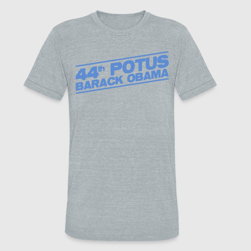 44th POTUS Barack Obama - Unisex Tri-Blend T-Shirt