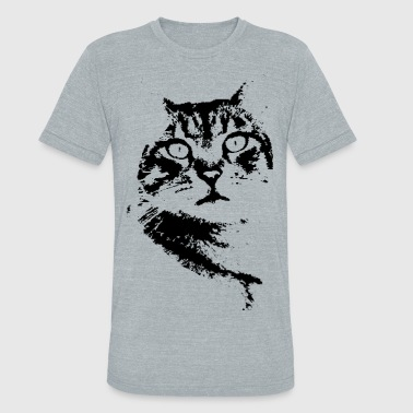 Captivating Kitty - Unisex Tri-Blend T-Shirt