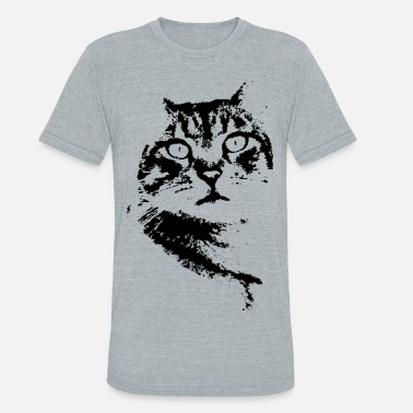 Kitty Cats Captivating Kitty - Unisex Tri-Blend T-Shirt