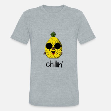 Crazy Design Chillin - Unisex Tri-Blend T-Shirt