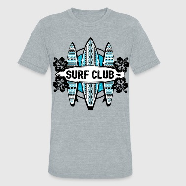 Surf Club AD Surf Club - Unisex Tri-Blend T-Shirt