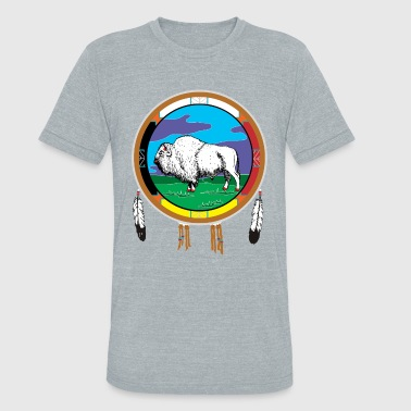White Buffalo - Unisex Tri-Blend T-Shirt