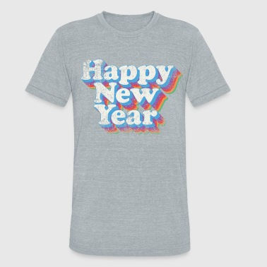 New Year Happy New Year Vintage - Unisex Tri-Blend T-Shirt
