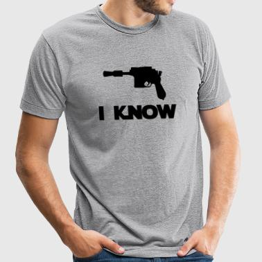 I Know_Star Wars Couple - Unisex Tri-Blend T-Shirt