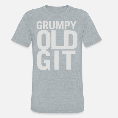 Grumpy Animals Grumpy - Unisex Tri-Blend T-Shirt