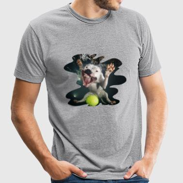 Underwater Dogs Rev by Seth Casteel - Unisex Tri-Blend T-Shirt