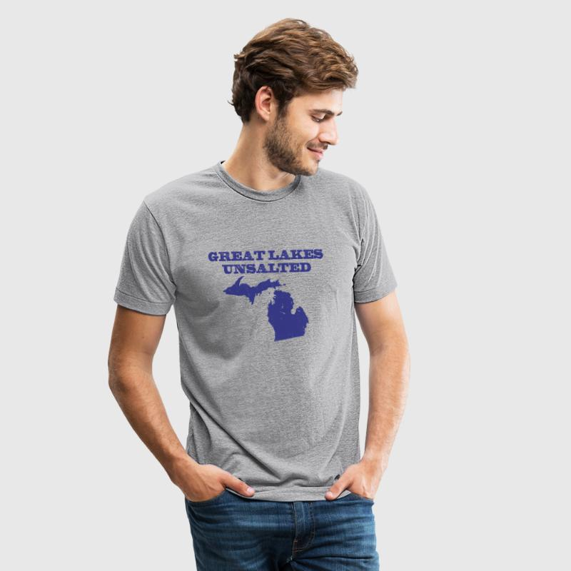 Great Lakes Unsalted Blue - Unisex Tri-Blend T-Shirt