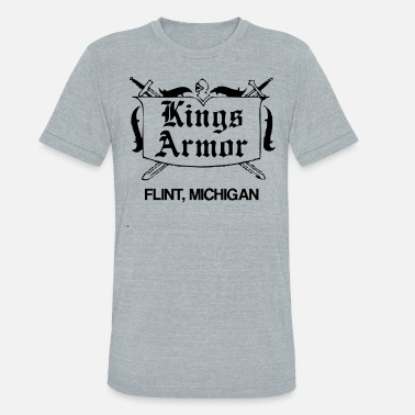 Armored Vehicle Kings Armor T-Shirts - Unisex Tri-Blend T-Shirt